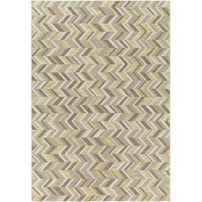 Farlough Brown/Neutral Indoor/Outdoor Area Rug Rug Size: Rectangle 711 x 1010
