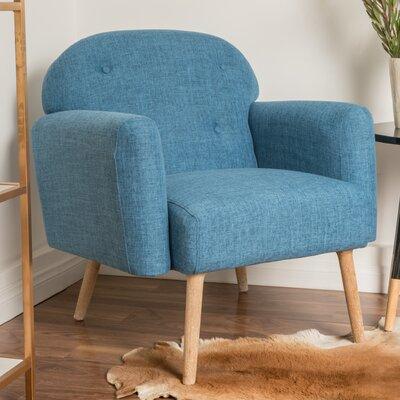Hartford Armchair Upholstery: Blue