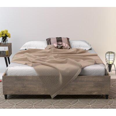 Norloti Queen Platform Bed Color: Distressed Brown