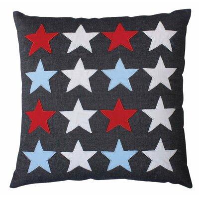Isobel Stars 100% Cotton Throw Pillow