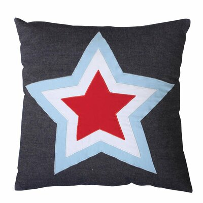 Kenna Star 100% Cotton Throw Pillow