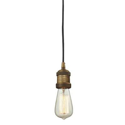Bare Bulb 1-Light Mini Pendant Finish: Brushed Brass