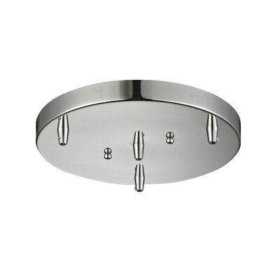 3-Light Pan Accesory Finish: Polished Nickel