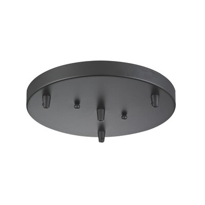 3-Light Pan Accesory Finish: Oil Rubbed Bronze
