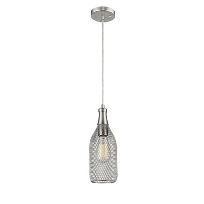Deckard 1-Light Mini Pendant Finish: Brushed Satin Nickel