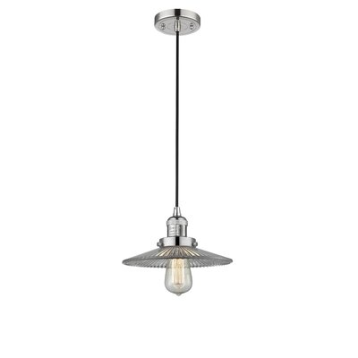 Halophane 1-Light Mini Pendant Finish: Polished Nickel