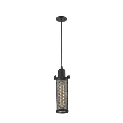 Quincy Hall 1-Light Mini Pendant Finish: Oiled Rubbed Bronze
