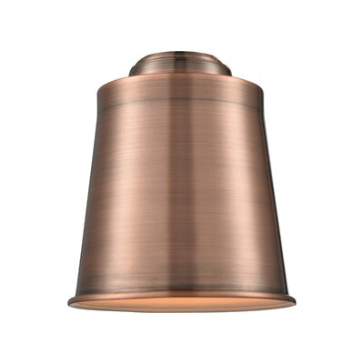 5 Metal Empire Pendant Shade Finish: Antique Copper