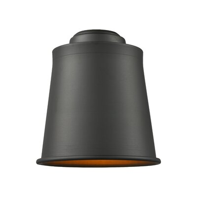 5 Metal Empire Pendant Shade Finish: Oil Rubbed Bronze