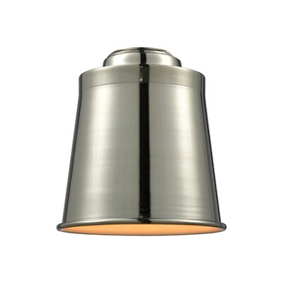 5 Metal Empire Pendant Shade Finish: Polished Nickel