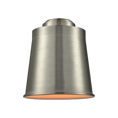 5 Metal Empire Pendant Shade Finish: Brushed Satin Nickel