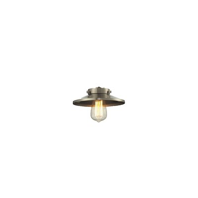 8 Metal Empire Pendant Shade Finish: Brushed Satin Nickel