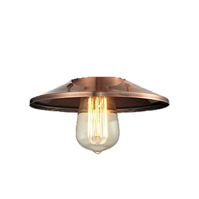 8 Metal Empire Pendant Shade Finish: Antique Copper