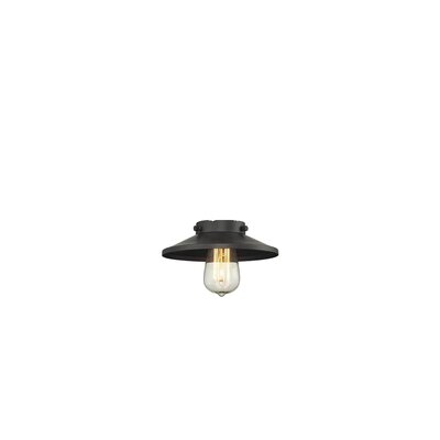 8 Metal Empire Pendant Shade Finish: Oiled Rubbed Bronze