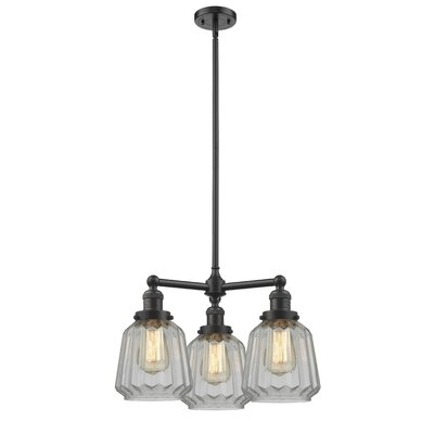 Vinson 3-Light Mini Chandelier Finish: Oil Rubbed Bronze