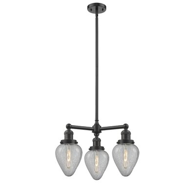 Bontrager 3-Light Mini Chandelier Finish: Oil Rubbed Bronze