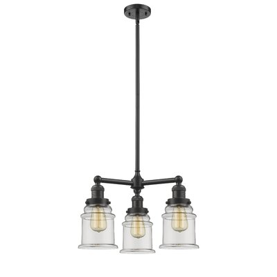 Greeley 3-Light Mini Chandelier Finish: Oil Rubbed Bronze