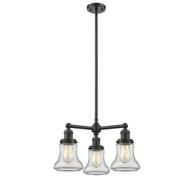 Nardone 3-Light Mini Chandelier Color: Oil Rubbed Bronze