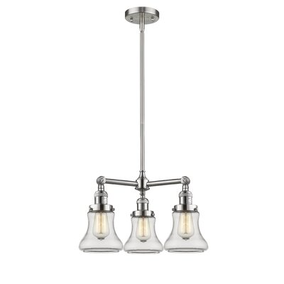 Nardone 3-Light Mini Chandelier Color: Brushed Satin Nickel