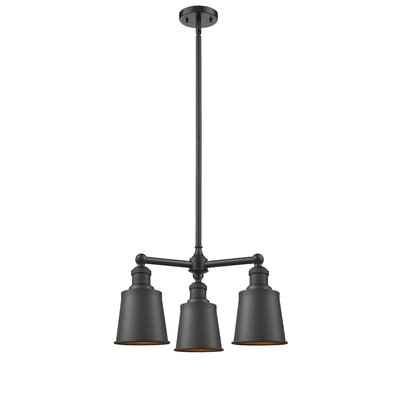 Carn 3-Light Mini Chandelier Finish: Oil Rubbed Bronze