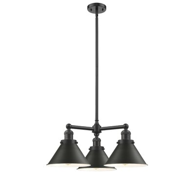 Doolittle 3-Light Mini Chandelier Finish: Oil Rubbed Bronze