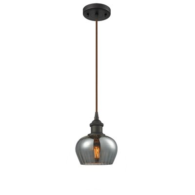 Dooling 1-Light Mini Pendant Finish: Oil Rubbed Bronze
