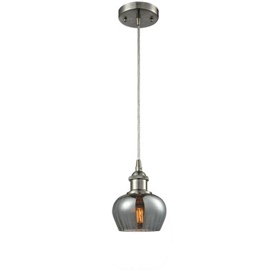 Dooling 1-Light Mini Pendant Finish: Brushed Satin Nickel