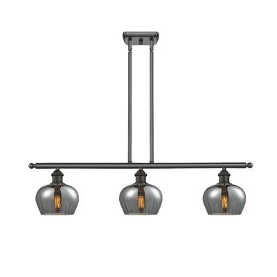 Dooling 3-Light Kitchen Island Pendant Finish: Oil Rubbed Bronze