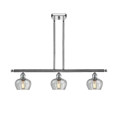 Dooling 3-Light Kitchen Island Pendant Finish: Polished Chrome
