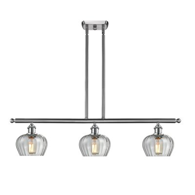 Dooling 3-Light Kitchen Island Pendant Finish: Brushed Satin Nickel