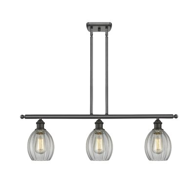 Raylene 3-Light Kitchen Island Pendant Finish: Oiled Rubbed Bronze