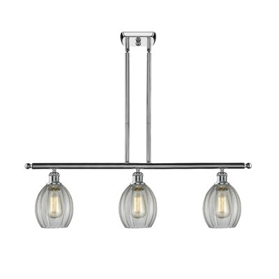 Raylene 3-Light Kitchen Island Pendant Finish: Polished Chrome
