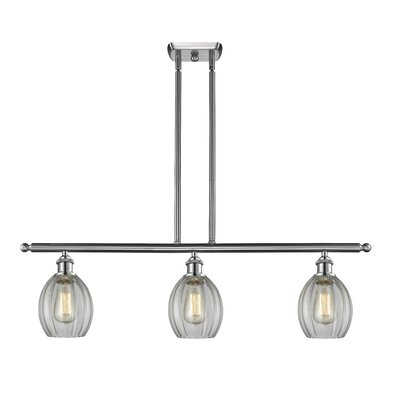 Raylene 3-Light Kitchen Island Pendant Finish: Brushed Satin Nickel