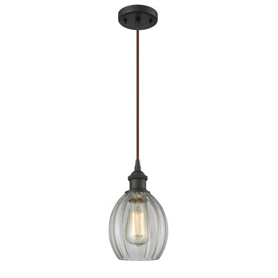 Raylene 1-Light Mini Pendant Finish: Oiled Rubbed Bronze