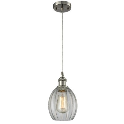 Raylene 1-Light Mini Pendant Finish: Brushed Satin Nickel