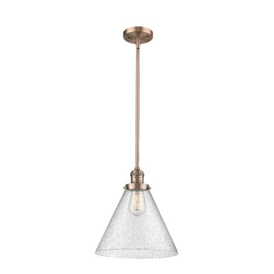 Conrado 1-Light Mini Pendant Finish: Antique Copper