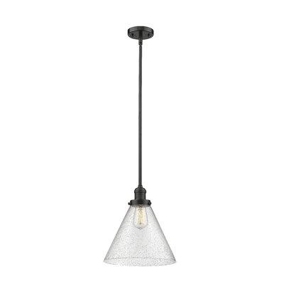 Conrado 1-Light Mini Pendant Finish: Oil Rubbed Bronze