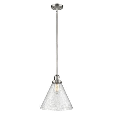 Conrado 1-Light Mini Pendant Finish: Polished Nickel