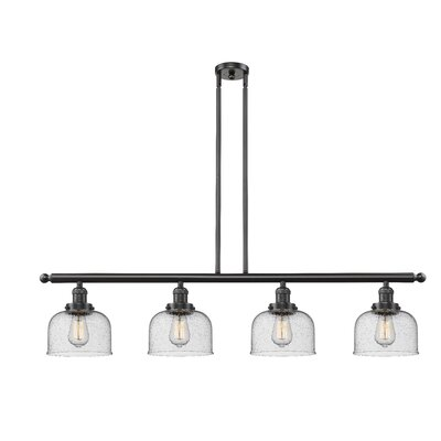 Emberto 4-Light Kitchen Island Pendant Finish: Oiled Rubbed Bronze