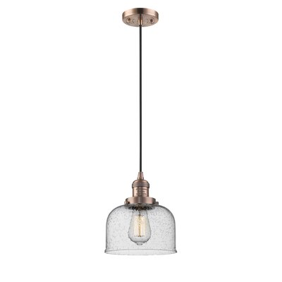 Estefan 1-Light Mini Pendant Finish: Antique Copper