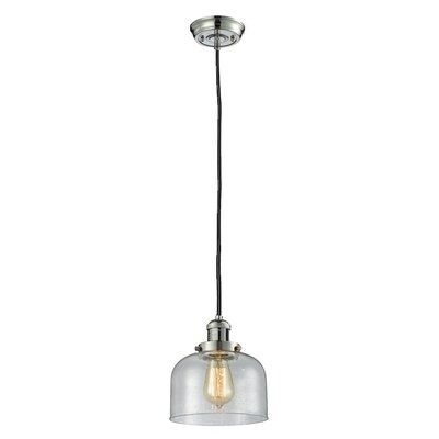 Estefan 1-Light Mini Pendant Finish: Polished Nickel