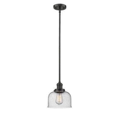 Estefan 1-Light Mini Pendant Finish: Oil Rubbed Bronze