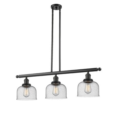 Adalhard 3-Light Kitchen Island Pendant Finish: Oil Rubbed Bronze