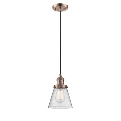 Adalwen 1-Light Mini Pendant Finish: Antique Copper