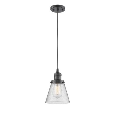 Adalwen 1-Light Mini Pendant Finish: Oil Rubbed Bronze