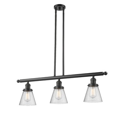 Alarica 3-Light Kitchen Island Pendant Finish: Oil Rubbed Bronze