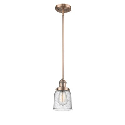 Blace 1-Light Mini Pendant Finish: Antique Copper