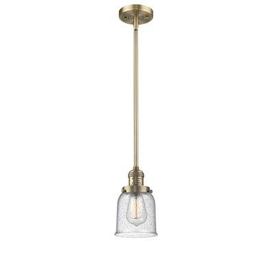 Blace 1-Light Mini Pendant Finish: Brushed Brass