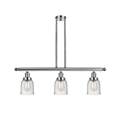 Agata 3-Light Kitchen Island Pendant Finish: Polished Nickel