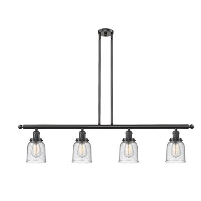 Aloysia 4-Light Kitchen Island Pendant Finish: Oil Rubbed Bronze
